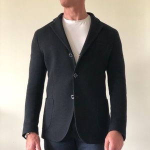 Men's Wool Knit Athleisure Jacket